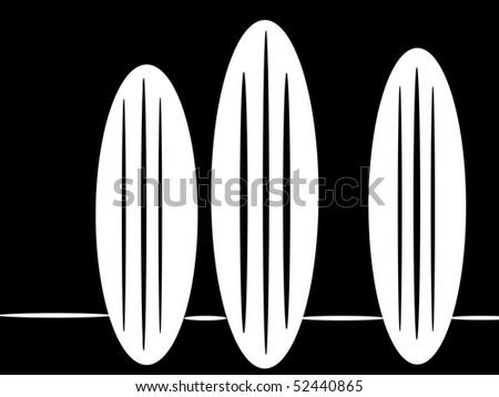 Surf Boards at the Beach