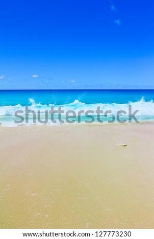 Surf Storm Splashing - stock photo