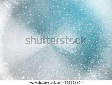 surface colorful ice background or abstract - stock photo