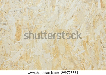 Surface made of pressed wooden shavings as an abstract background, textured background. - stock photo