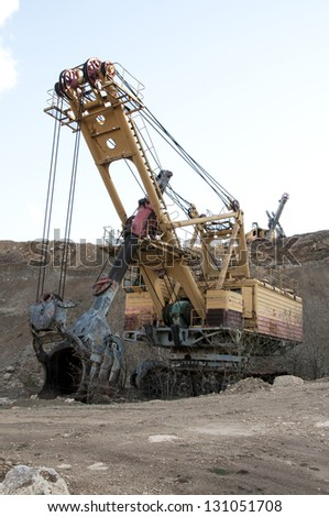 surface mining and machine
