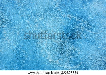 surface of bubbling water background or abstract