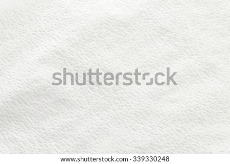 Surface of napkin as background - stock photo