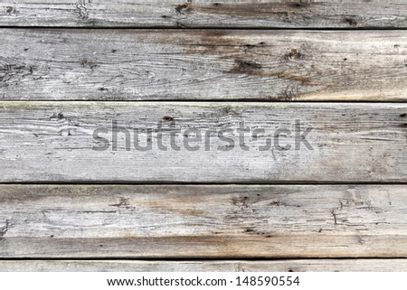 Surface of old boards - stock photo