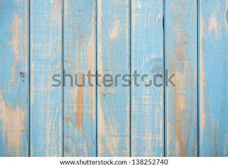 Surface of painted shabby wood - stock photo