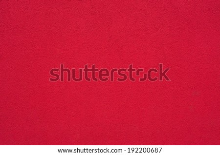 Surface of red plaster for usage as background