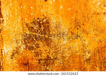 surface of rusty sheet metal texture background
