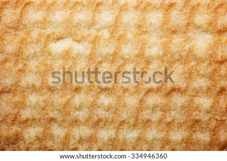 Surface of the baked rustic bread. Bread texture