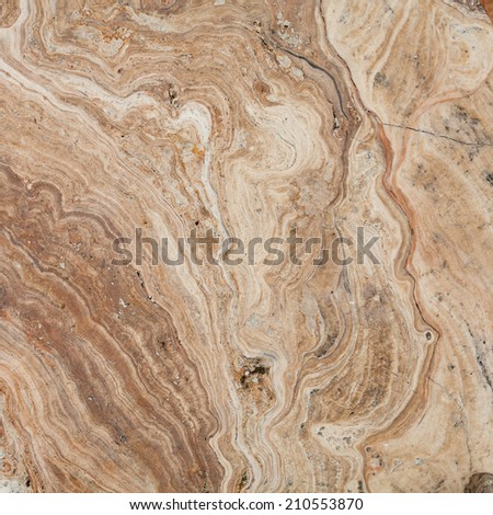 surface of the marble with brown tint - stock photo