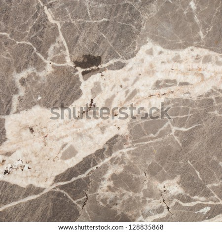 surface of the marble with gray tint - stock photo