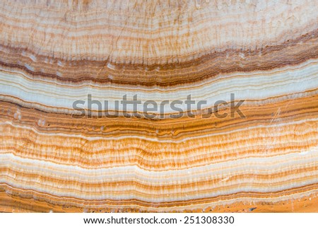 surface of the marble with many shade curve  - stock photo