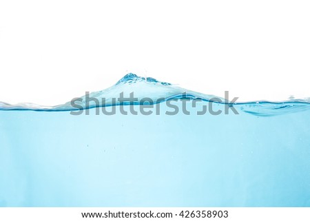 surface of the water