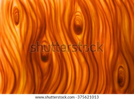 surface of the wood background with brown stains in the shape of wood texture painted by airbrush on paper in the background