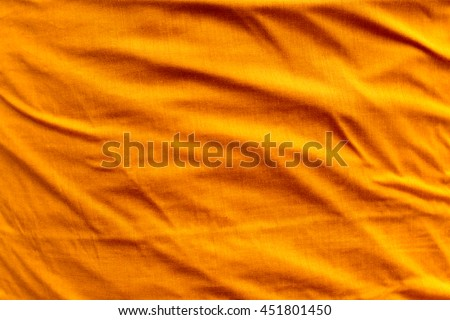 Surface texture of Yellow fabric