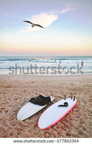 Surfboard Stock Images, Royalty-Free Images & Vectors ...