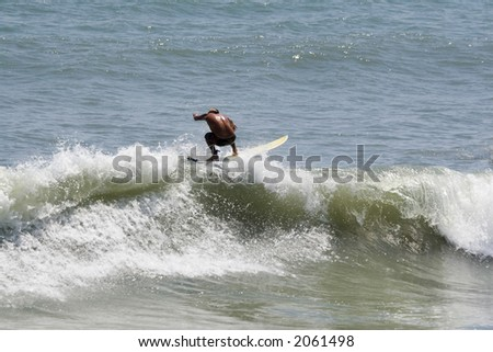 Surfer in Cocoa Beach, Florida