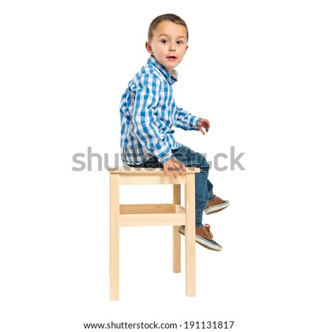 Boy Sitting Stock Images Royalty Free Images Vectors