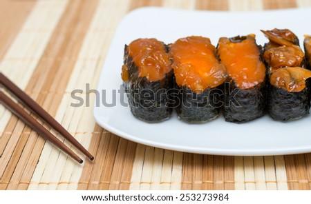 Sushi Japanese food - stock photo