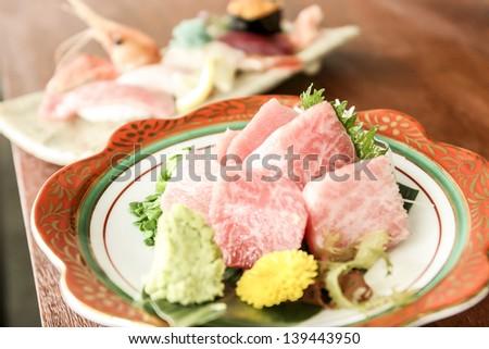 Sushi King - stock photo