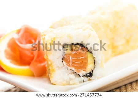 Sushi. Maki sushi - stock photo
