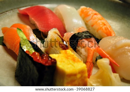 sushi that is famous food of japan