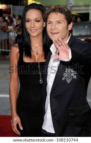 "Susie Feldman and Corey Feldman  at the Los Angeles Premiere of ""Step Brothers"". Mann Village Theatre, Westwood, CA. 07-15-08"