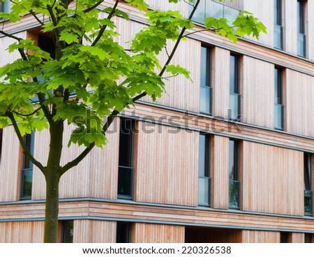 Sustainable architecture - stock photo