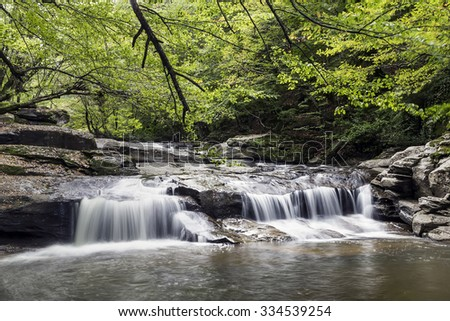 Suuctu Waterfall - stock photo
