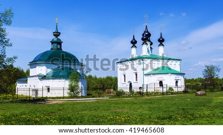 Suzdal, Golden Ring of Russia - stock photo