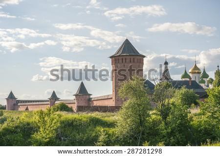 Suzdal Russia - stock photo