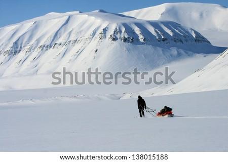 Svalbard, Norway - stock photo