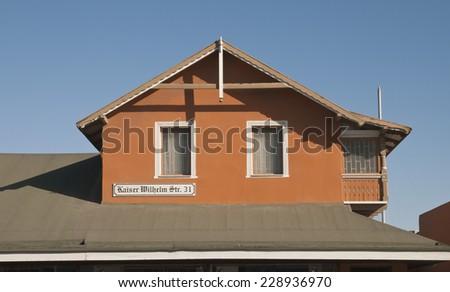 Swakopmund, Cityscape, Namibia, Africa - stock photo