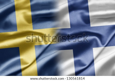Sweden and Finland - stock photo