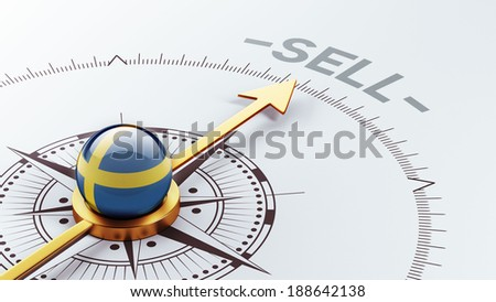 Sweden High Resolution Sell Concept - stock photo
