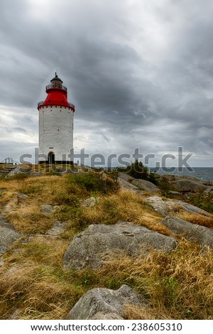 Swedish Bay - stock photo