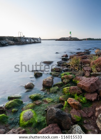 Swedish lighthouse in G�¤vle north of Stockholm