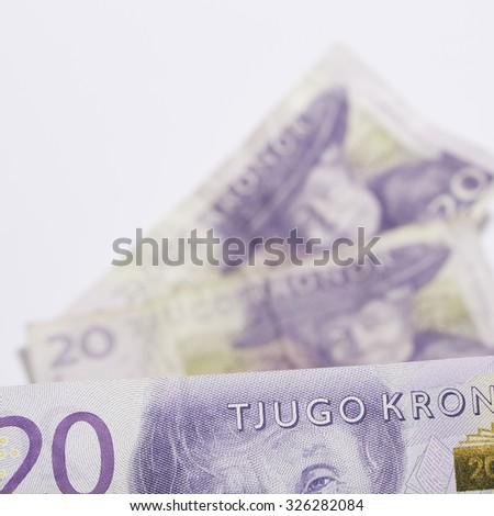 Swedish Money - stock photo