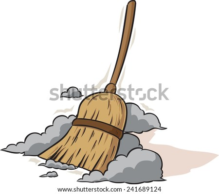 Old Fashioned Dirt Broom