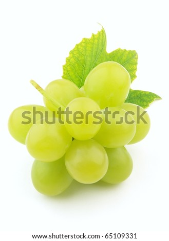 Sweet and ripe grapes - stock photo