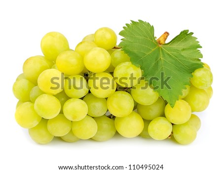 Sweet and ripe grapes muscat