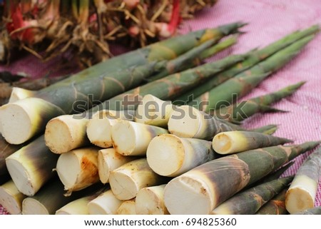Sweet bamboo shoot