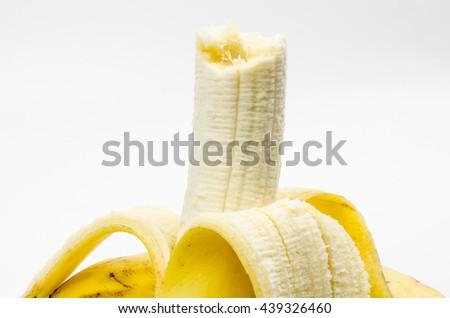 sweet banana - stock photo