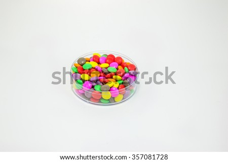 Sweet candy isolated