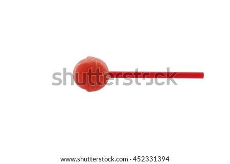 Sweet candy  isolated on white background - stock photo