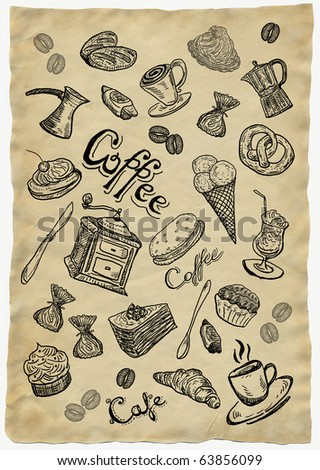 Sweet  coffee paper