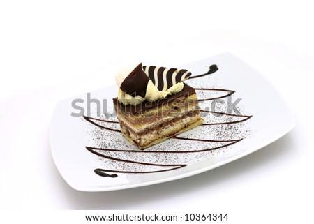 Sweet dessert - stock photo