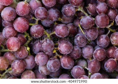 Sweet fresh grape. Grape background