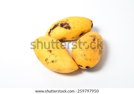 Sweet Mangoes origin from Thailand