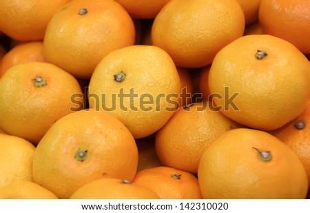 Sweet oranges, Borough Market London, England - stock photo