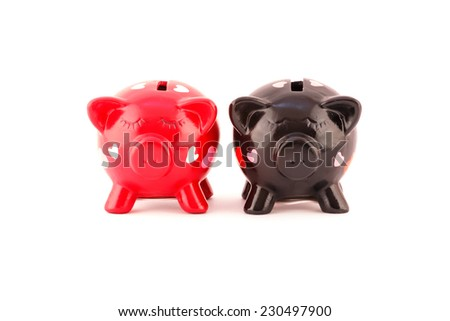 Sweet piggybanks for Her and for Him
